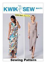 Kwik Sew k4171 Kwik inizia a imparare a cucire modello MISSES Abiti Taglie XS-XL BN