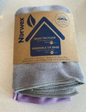 Norwex Basic Package Window & Enviro Cloth 2pc BacLock Microfiber No Chemicals
