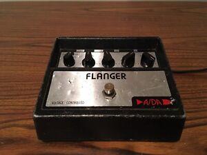 Vintage A/DA Flanger Effects Pedal ADA All Original