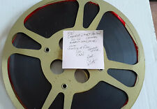 """16MM FILM """"LEGEND OF SLEEPY HOLLOW"""" CARTOON 800' REDDISH COLOR/ SOUND NO V.S."""