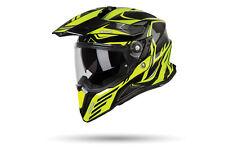 Airoh Commander Helmet Gloss Carbon/Yellow