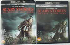 SCARY STORIES TO TELL IN THE DARK 4K ULTRA HD BLU RAY 2 DISC SLIPCOVER SLEEVE