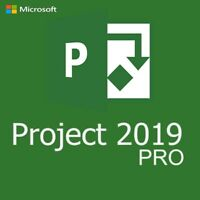 Microsoft Project Professional 2019 Key Product Code Genuine License INSTANT 1PC
