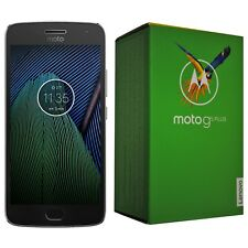 BNIB MOTOROLA MOTO G5 PLUS 32GB XT1684 LUNAR GRAY FACTORY UNLOCKED 4G SIMFREE