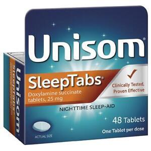 Unisom Sleep Tablets 48 ct