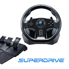 Superdrive Gaming Gs 850x Steering Wheel With Pedals Xbox Onexs Ps4 Pc