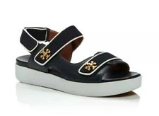 TORY BURCH WOMEN'S KIRA NAVY SPORT SANDALS SHOES Size US 8/EURO 38