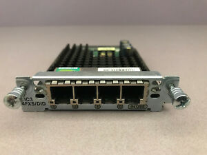 Cisco VIC3-4FXS/DID 4 Port Voice Interface Card