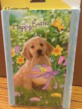 "Lot 36 ""Just For You"" Brand NEW EASTER Greeting CARDS Golden Retriever"