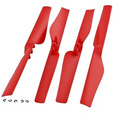 4 GENUINE POWER EDITION RED PROPELLERS Motor Blade Rotor - Parrot AR.Drone 2.0