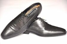 Fratelli Rossetti mens Black Calf Derby Formal shoes size 8, UK 8F/US 8.5D/EU 42
