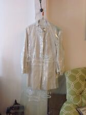 J CREW WOMENS LONG COAT 100% Cotton Lined  Size 2 , Dry Cleaned