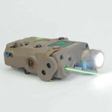 Tactical Green Dot Laser with White LED Flashlight and IR illuminator Tan