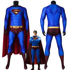 Superman Returns Costume Cosplay Suit Clark Kent 3D Printed for Men