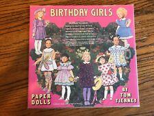 Birthday Girls paper dolls by Tom Tierney