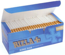 Tube à Cigarette Rizla + en 250 avec filtre LIVRAISON + 5 briquet GRATUITE