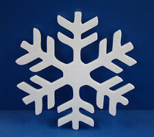 30 POLYSTYRENE SNOWFLAKE IN HD 1 DESIGN 800MM HEIGHT 20MM THICK