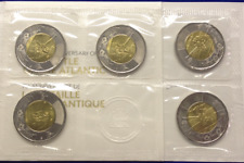 "2016 ""BATTLE OF THE ATLANTIC"" COIN SET 75TH ANNIVERSARY 5 SEALED TOONIES"