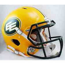 EDMONTON ESKIMOS Riddell Revolution SPEED CFL Football Helmet