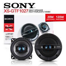"""SONY XSGTF1027 10cm 4"""" GTF Series Full Range 2-Way Coaxial Car Speaker"""