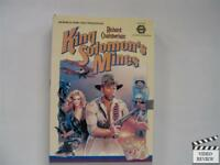 King Solomon's Mines Big Case 1985 *Richard Chamberlain