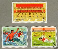 China 1976 J10 Be Tempered in Big Rivers & Seas Stamps