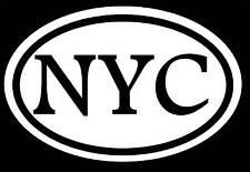 NYC NEW YORK CITY STICKER DECAL NEW YORK NYC JAYZ YANKEES WORLD TRADE 911 LOVE