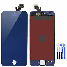 Mirror Blue LCD Touch Screen Display Digitizer Replacement for iPhone 5 + Tools