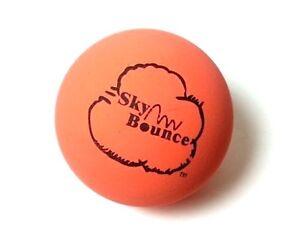 10 SKY BOUNCE ORANGE COLOR - HAND BALLS / RACKET BALL NEW