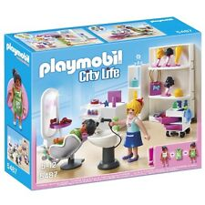 Playmobil City Life Shopping Centre Beauty Salon - Brand New!