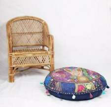 """New 32"""" Round Patchwork Cushion Cover Floor Decorative Pillow Covers Throw ..."""