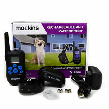 Mockins 100% Waterproof and Rechargeable Electronic Remote Training Dog Collar
