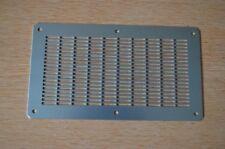 1,5mm x 250mm x 140mm / Verzinktes Lochblech / Lüftungsblech / Gitter / Sieb