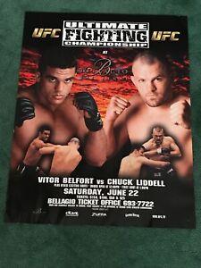 UFC 37.5 Poster