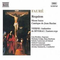 FAURE - REQUIEM / MESSE BASSE / CANTIQUE DE JEAN RACINE (1994 CD ALBUM)