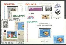 100 Jahre UPU - Bolivien - ** MNH 1974