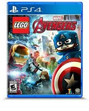 PLAYSTATION 4 PS4 GAME LEGO MARVEL AVENGERS BRAND NEW AND SEALED