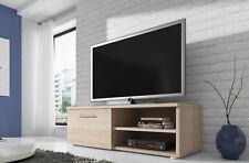 Meuble TV Armoire Divertissement Vegas 120 cm Chêne Clair Sonoma