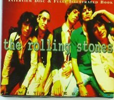 CD - The Rolling Stones - Fully Illustrated Book & Interview Disc - A6074