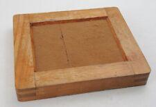 * Vintage * Wood / Wooden Contact Printer / Printing Print Frame - 4 x 5 Photo