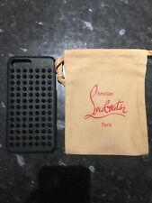 Louboutin Phone Case Studded Dust Bag iPhone 6 6s 7 8 Plus Loubiphone Leather