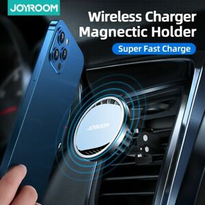 ✅Wireless Car Charger 15W Qi Fast Charging Auto-Clamping Car Mount Phone Holder