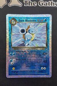 1x Carte Pokemon Dark Blastoise / Obscure Tortank 2002 VO Legendary Reverse