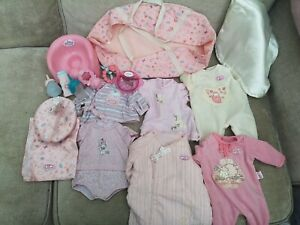 Zapf creation baby born baby dolls clothes and accessories Joblot/Baby Annabelle