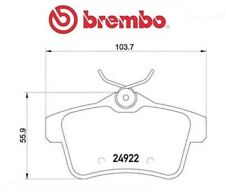 P61114 Kit pastiglie freno, Freno a disco (MARCA-BREMBO)