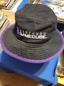 Nintendo Gamecube Promo Bucket Hat - New, excellent condition! GC Black & Purple