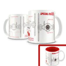 Star Wars - Mug Blueprint Tie Fighter Special Forces - Tazza Guerre stellari