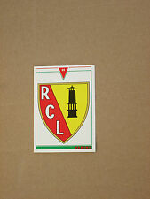 Carte official football cards panini 1993  RC LENS   LOGO BLASON