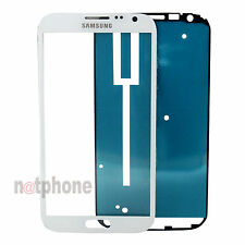 ORIGINAL LCD Display Glas Scheibe Samsung Galaxy Note 2 N7100 Touchscreen Weiß
