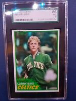 1981-82 Topps Basketball Complete Set of 198.Graded Larry Bird! Magic! McHale RC